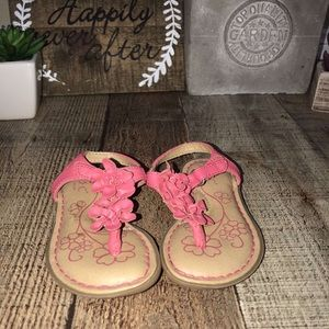 ⬇️ 3/$15 BOC size 5 toddler pink sandals